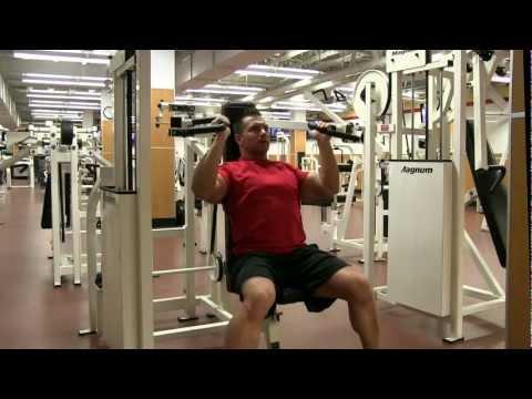 Parallel Grip Machine Shoulder Press
