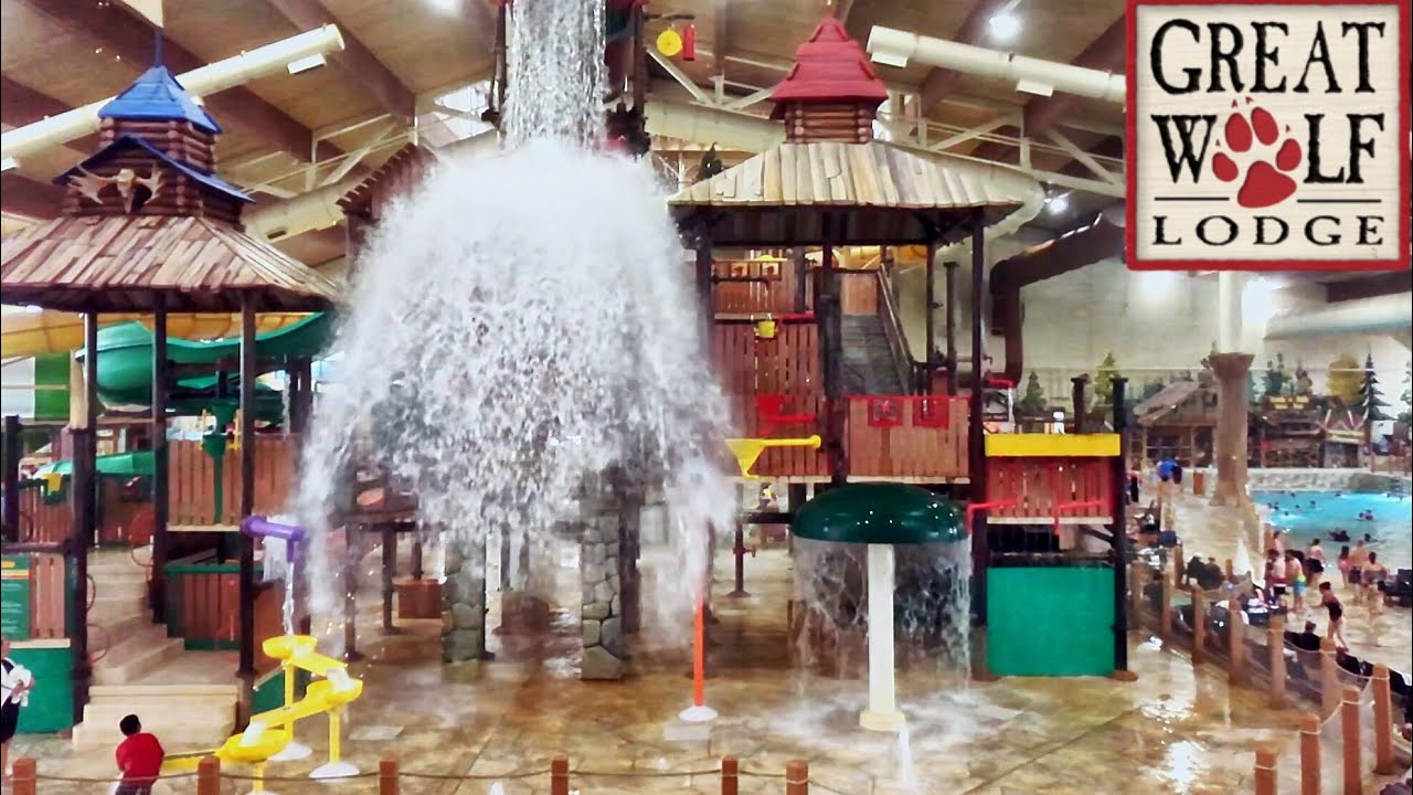Visit the Waterpark at Great Wolf Lodge