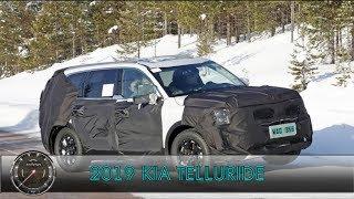 Новый 2019 Kia Telluride   Новый Киа Теллурайд 2019    Предсерийный Тестовый Прототип