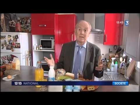 Le petit dèjeuner – France 3 – Pr Henri Joyeux