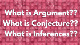What is Argument & other important terms of Logical reasoning by Be Prepare for UGC-NET
