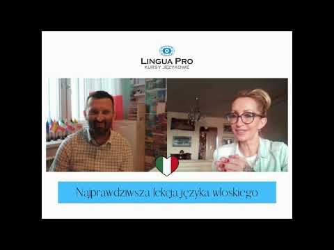 Kadr z filmu na youtube - Najprawdziwsza lekcja języka włoskiego 16_20 online