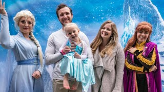 JUNIPERS 3RD BIRTHDAY!! Frozen Themed Birthday Party With Elsa And Ana!