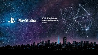 """""""2017 PlayStation® Press Conference in Japan""""(English)"""