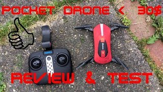 Eachine E52 WiFi FPV Selfie Drone REVIEW CHEAP MINI DRONE with CAM Test and testfly