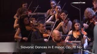 Antonín Dvořák – Slavonic Dances in E minor, Op. 72 No. 2 / Sinfonietta Cracovia, Jurek Dybał