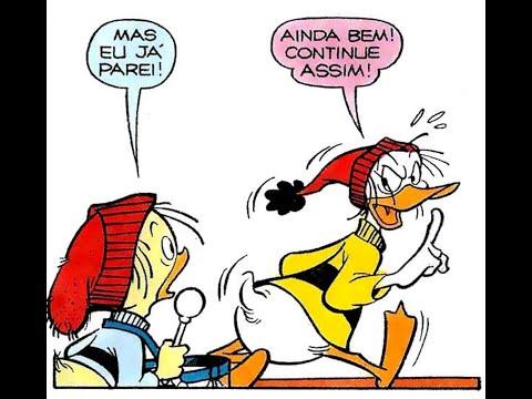 Peninha e Biquinho  em Chantagem emocional - Quadrinhos Disney