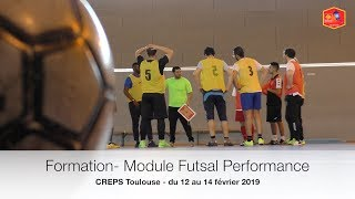 Formation Futsal Base - Perfectionnement (Creps Toulouse)