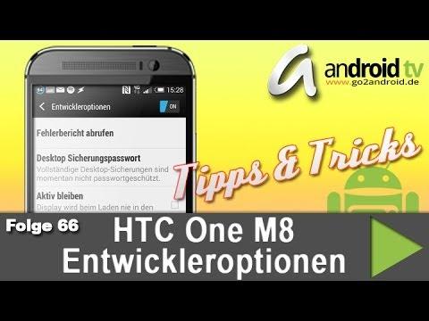 HTC One M8 Entwickleroptionen - Tipps & Tricks 66 [GER]
