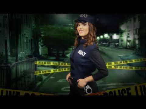 Disfraz de Policia SWAT para Mujer.
