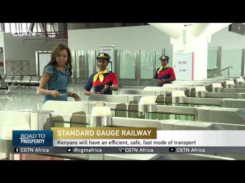 SGR Nairobi terminus has eye-catching modern amenities