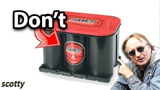 Never Buy This Car Battery