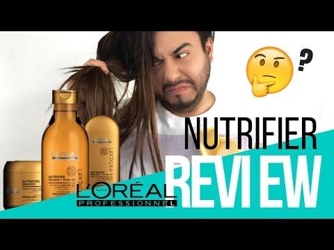 REVIEW ¡NUEVO! NUTRIFIER L'Oréal Professionnel