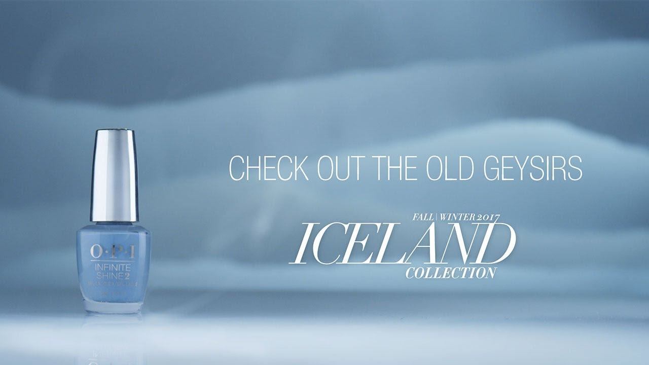 Video:OPI Iceland Shade Story | Check Out The Old Geysirs
