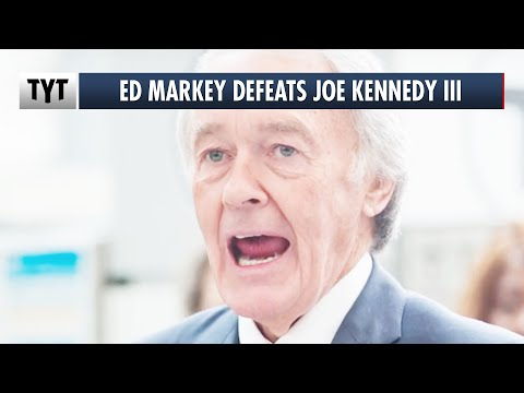 Ed Markey DEFEATS Joe Kennedy III