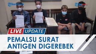 Polisi Gerebek Ruko Agen Travel yang Jadi Tempat Pembuatan Surat Antigen Palsu di Bandar Lampung