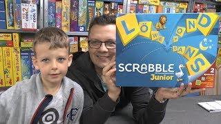 Scrabble Junior (Mattel) - ab 6 Jahre - Ideal für 1. Klasse? Buchstaben lernen!