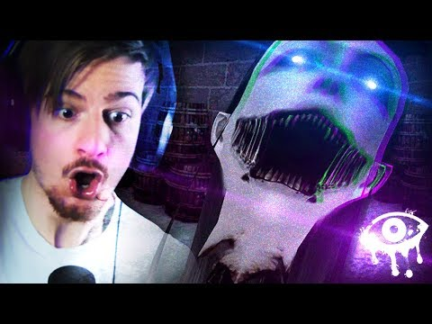 WE BROKE INTO THE WRONG MANSION. || Eyes: Horror Game