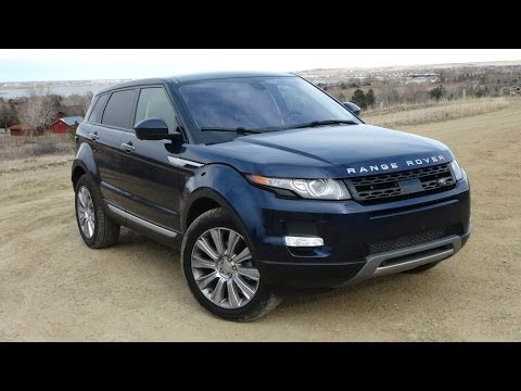 2014 Range Rover Evoque 0-60 MPH Review