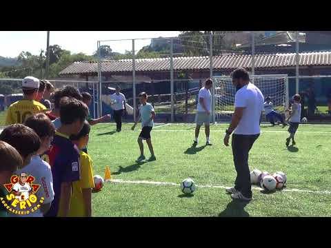 Luizão Centroavante o Multicampeão do Brasil no dia do desafio 2018 em Juquitiba