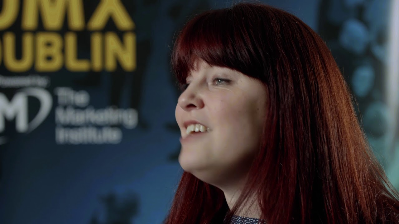 Evelyn Wolf, BusinessBrew Interview @ DMX Dublin 2018