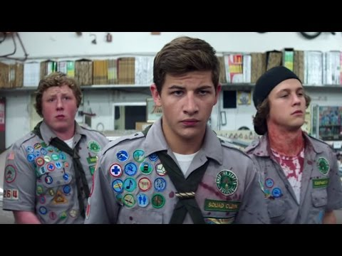 Scouts Guide to the Zombie Apocalypse Movie Trailer