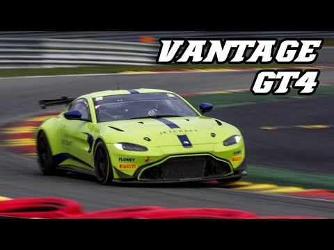 2019 Aston Martin Vantage GT4 - fly-by's / Backfire