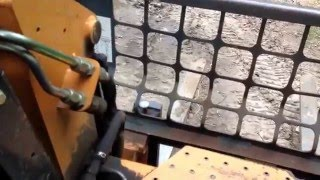 How to operate a Case 40XT skid loader