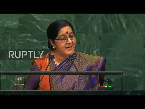 UN: India and Pakistan exchange allegations of terrorism at UNGA