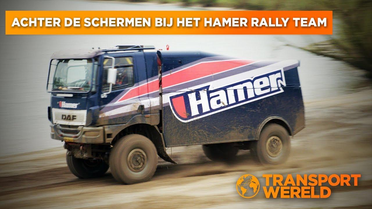 Achter de schermen bij het Hamer Rally Team