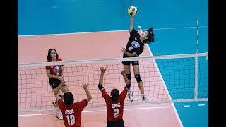 HL วอลเลย์บอล เอสโคล่า ชิงชนะเลิศประเทศไทย 2561 หญิง กีฬานครนนท์ พบ พาณิชยการอยุธยา