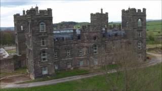 Drone Flight Over Riber Castle   28th April 2017. Aerial Video.