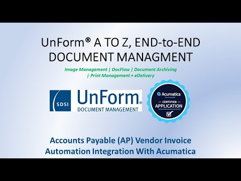 UnForm AP Video