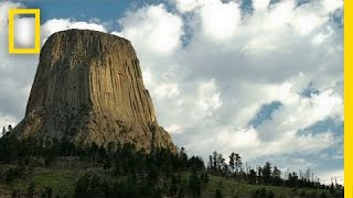 See Devils Tower National Monument From Space | National Geographic thumbnail