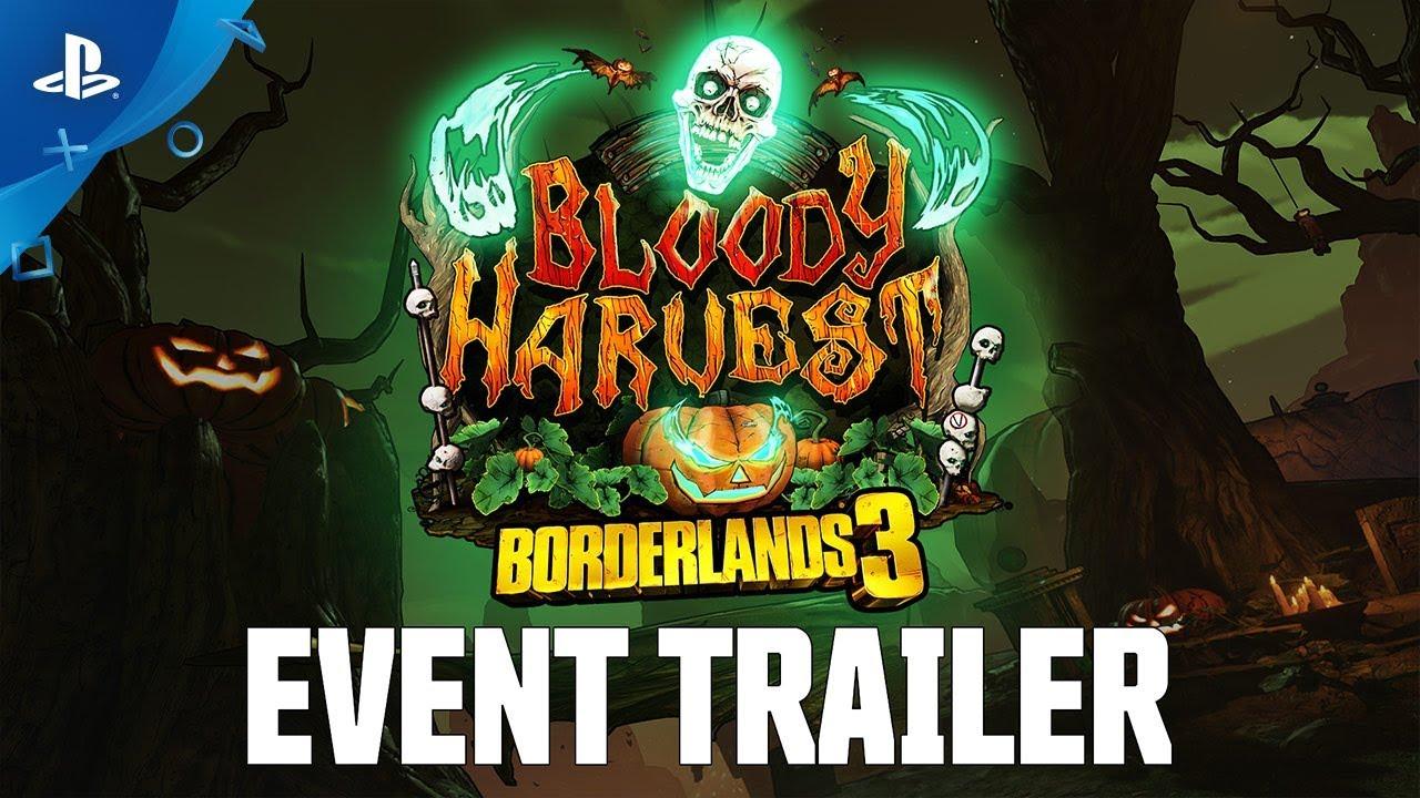 O Evento Gratuito 'Bloody Harvest' de Borderlands 3 Começa Hoje