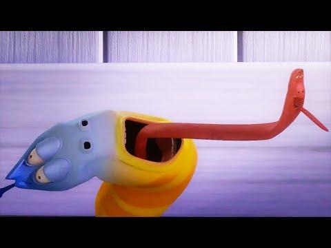 LARVA - TONGUE SPINNER | Cartoon Movie | Cartoons For Children | Larva Cartoon | LARVA Official
