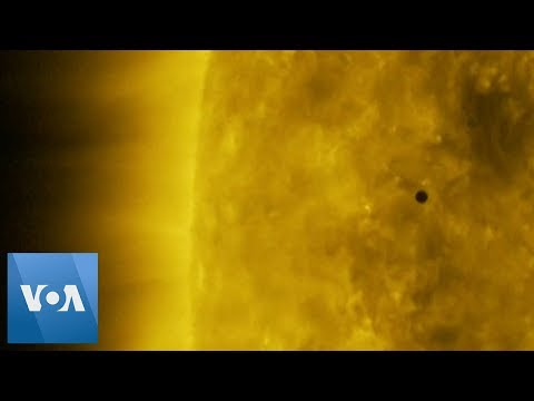 NASA Images Show Mercury Passing In Front of Sun
