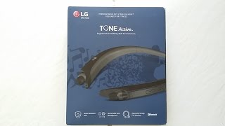 2016 LG Tone Active HBS-A80 Bluetooth Headset Review