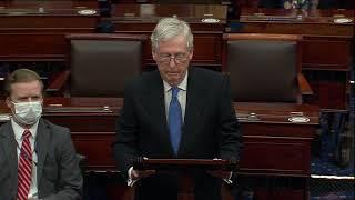 McConnell Congratulates President Biden, Vice President Harris, and New Senators