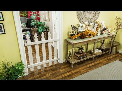 How To - Paige Hemmis' DIY Dog Gate - Hallmark Channel