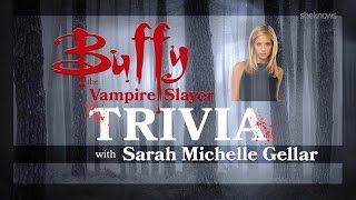 SheKnows | Sarah Michelle Gellar - Buffy Trivia Test (27.10.16)