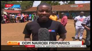 ODM PRIMARIES: Voters turn up in large numbers in Kibera Constituency