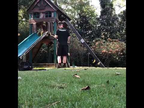 Playset removal in Atlanta, Georgia