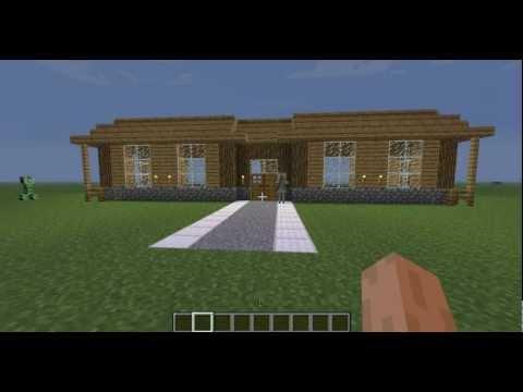 Comment construire une belle et grande maison dans minecraft ...