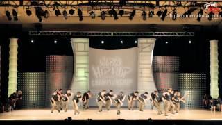 GRV (USA) at World Hip Hop Dance Championship Finals 2012 (MegaCrew)