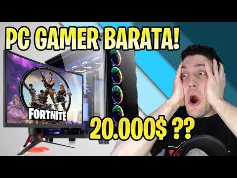 PC GAMER BARATA PARA JUGAR FORTNITE, FREE FIRE, PUBG Y GTA V