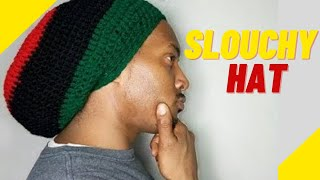 Quick Crochet Slouchy Beanie - How To Crochet A Slouchy Hat For Man