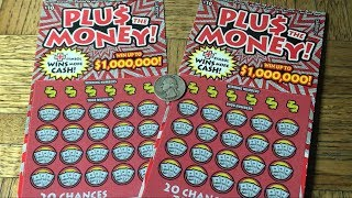 First Time Playing PLUS THE MONEY California Scratcher Tickets