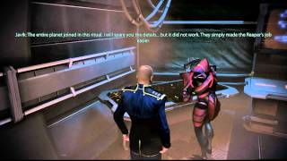 Mass Effect 3- Javik Loves Liara, Tali.....and Fish