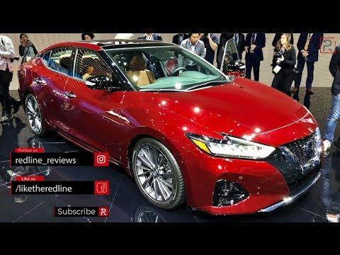 2019 Nissan Maxima – Redline: First Look – 2018 LA Auto Show